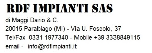 RDF Impianti S.a.s