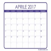 GARE E MANIFESTAZIONI IN PROGRAMMA AD APRILE 2017